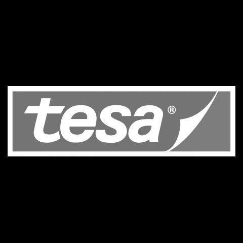 Logo tesa, black & white