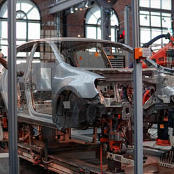 Automotive Presentation on TV