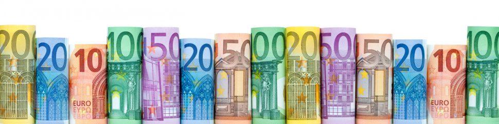 Honorare in der PR-Branche - Euro-Scheine