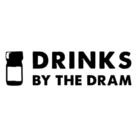 Logo Drinks by the Dram, black & white