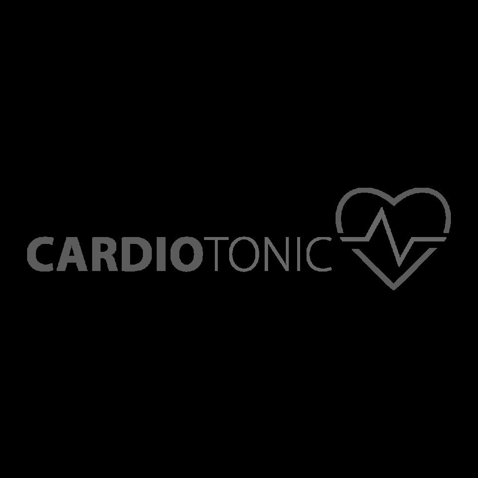 Logo CARDIOTONIC, black & white