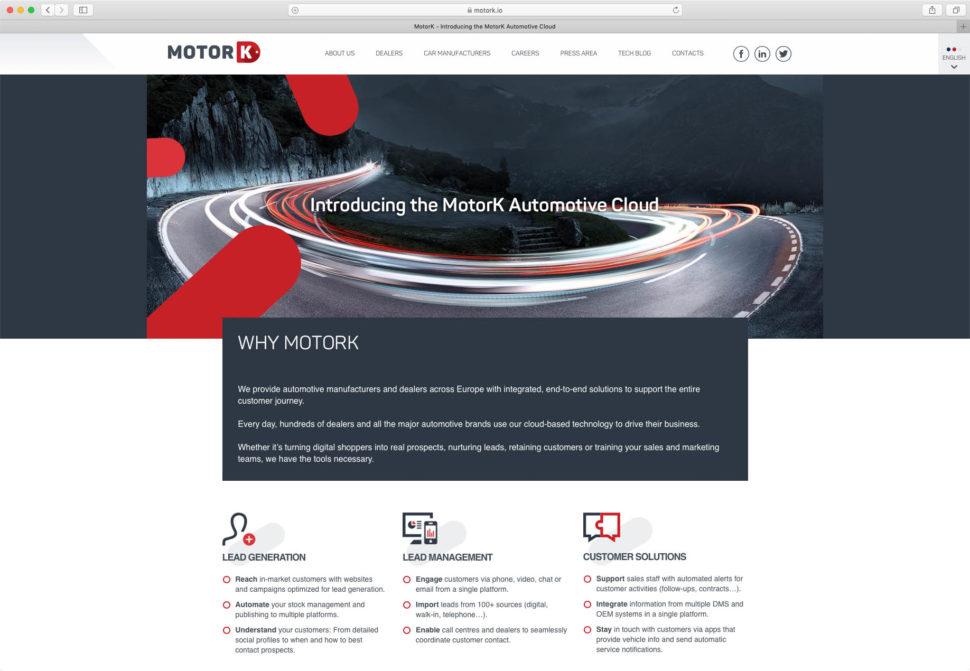 MotorK Website