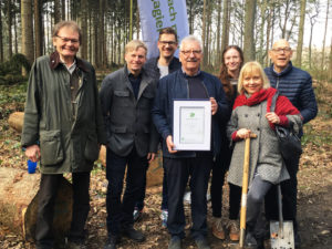 #IC40YEARS – Industrie-Contact spendet 40 Bäume an Stiftung Unternehmen Wald
