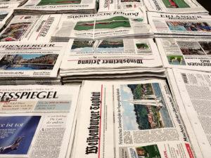 IVW: Auflagenzahlen der Printmedien sinken weiter