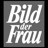 Logo Bild der Frau, black & white