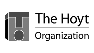 Logo The Hoyt Organization, black & white