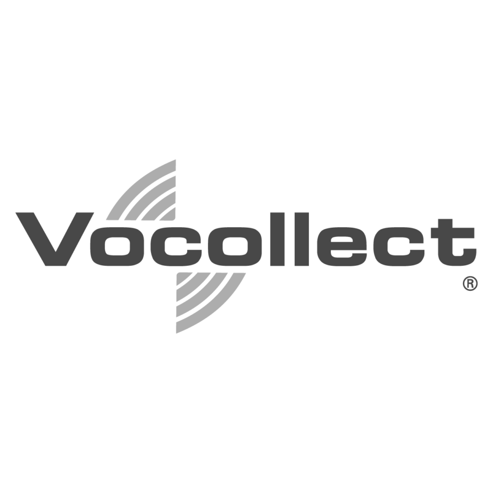 Logo Vocollect, black & white