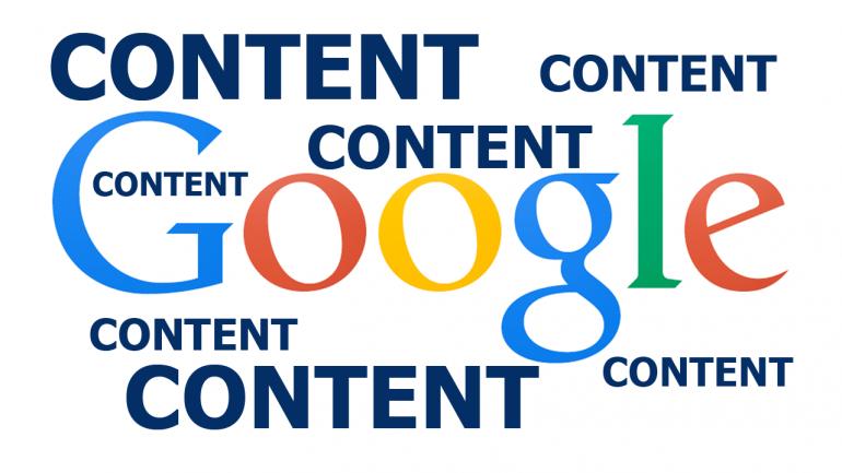Google content