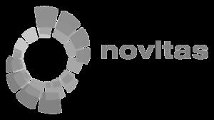 Logo novitas, black & white