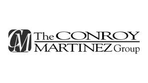 Logo The Conroy Martinez Group, black & white