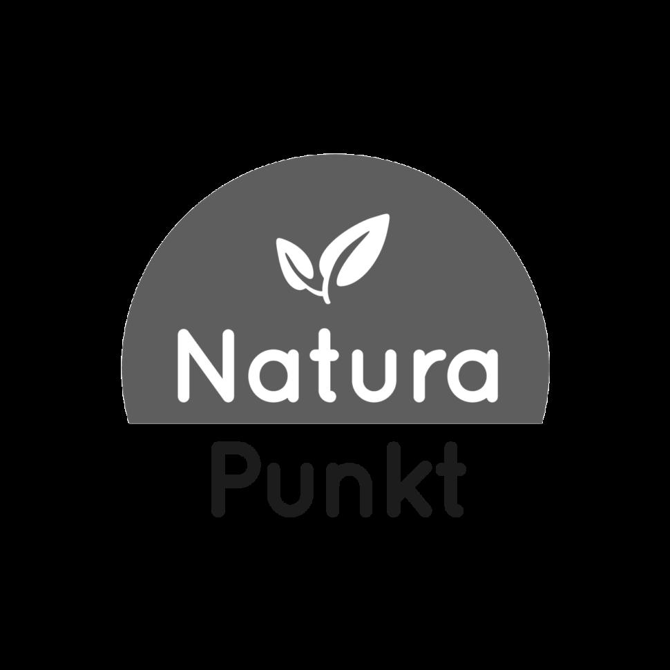 Logo NaturaPunkt, black & white