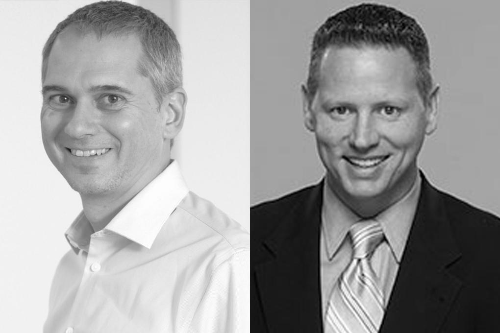 Robert Bauer, accelent communications und Chuck Norman, S&A Communications