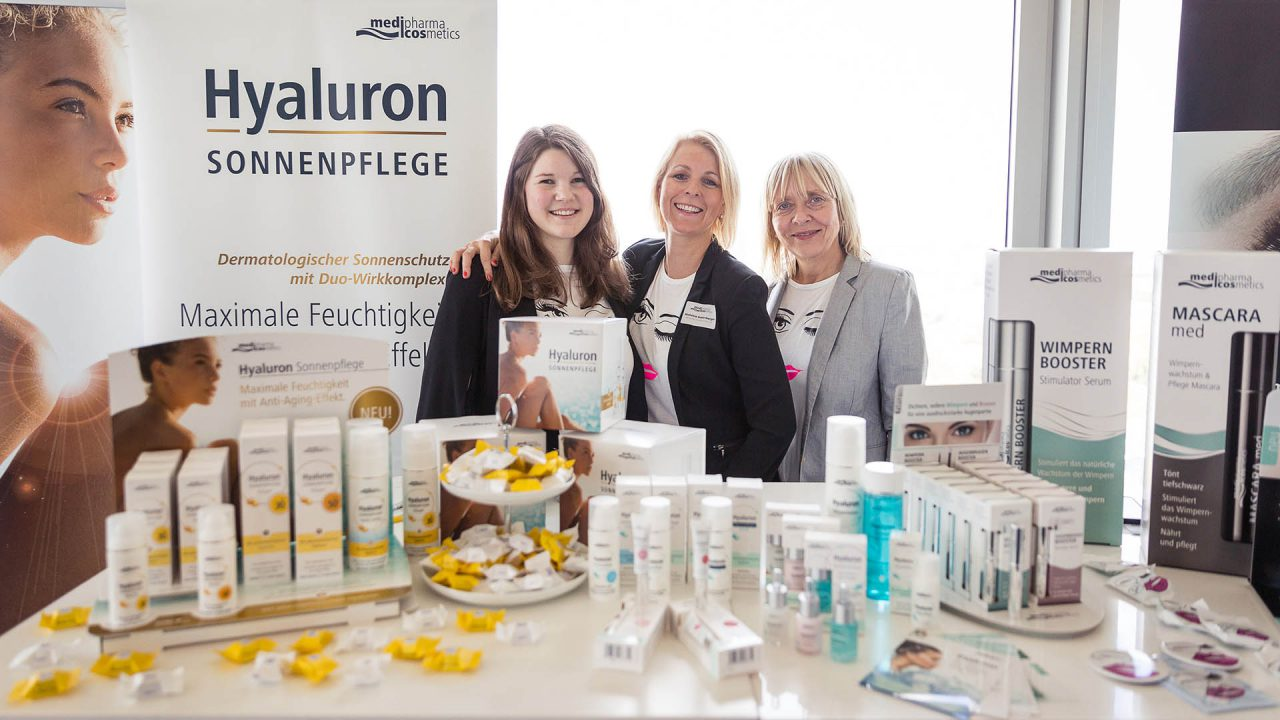 "Webportalis ""All-in-One Lifestyle-Event"" medipharma cosmetics Hyaluron, Clio Kumlehn, Michaela Gusenberger, Sabine-Harms-Karla (April 2017)"